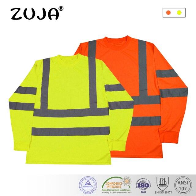 c4be4df04b De Manga comprida Camisa Respirável Roupas de Trabalho de Trabalho de  Segurança de Segurança Refletivo de