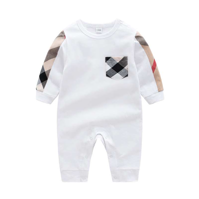 2019 Autumn Winter Fashion Baby Boy Clothes Long Sleeve Baby Rompers Newborn Cotton Baby Girl Clothing Jumpsuit Infant Clothing