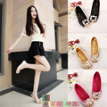 2016 new summer wild diamond soles with a flat soft shoes flat women's casual shoes Peas shoes 34 - 42 size
