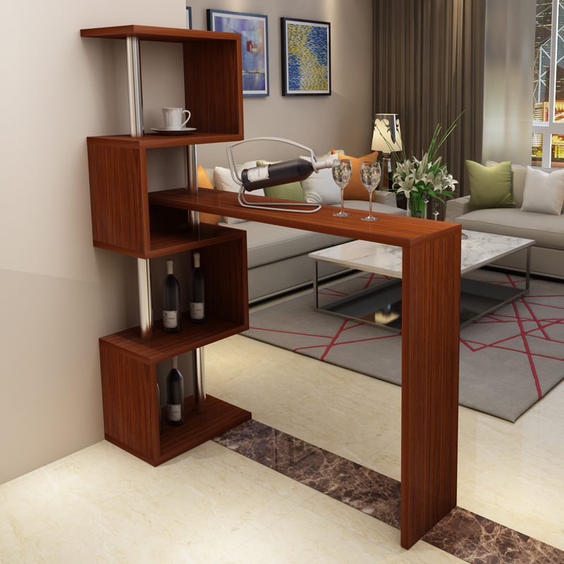 Living Room Mini Bar Furniture Design Bar Tables Home Corner Bar Counter  Rotating Partition Wall Living Part 53