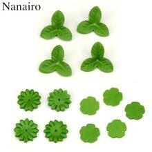 100 pçs mini folhas de natal verde flor artificial para decoração de casamento guirlanda folha rosa folhagem artesanato barato flores falsas