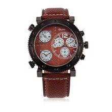 NEW Hot Men Fashion Wedding Jewelry Quartz Wristwatches High Quality Leather