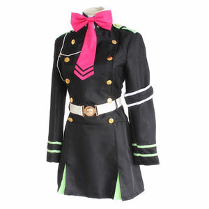 Image 4 - Japanese Anime Owari no Seraph Seraph of the end Cosplay Costume Hiragi Shinoa Uniform Halloween party cosplay costume