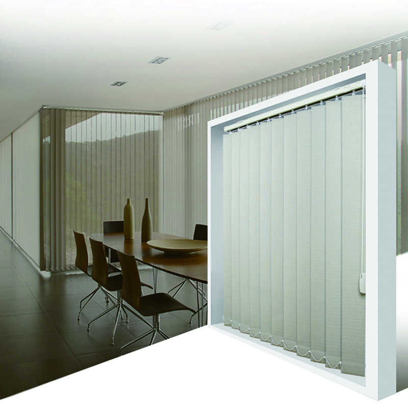 European sytle  high quality popular vertical blinds 89mm size  for window shade  customized made blinds  from China factory