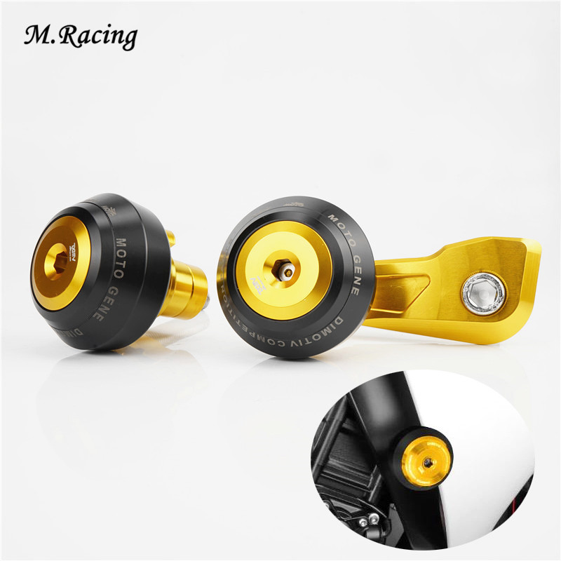 Motorcycle Frame Slider Anti Crash Pad Protector Engine Cover Falling Protectors For YZF-R1 R1 2009-2014