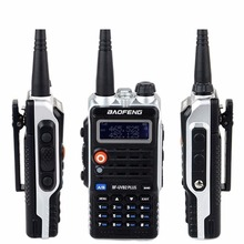 Baofeng Walkie Talkie BF-UVB2 PLUS VHF/UHF Dual Band Handy Hunting Radio Receiver With Headfone