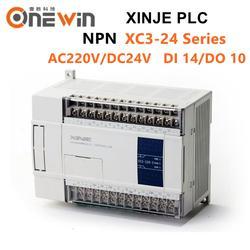 XINJE XC3 серии XINJE XC3-24R/T/RT-E/C PLC модуль контроллера AC220V DI 14 10 транзистор Новый в коробке