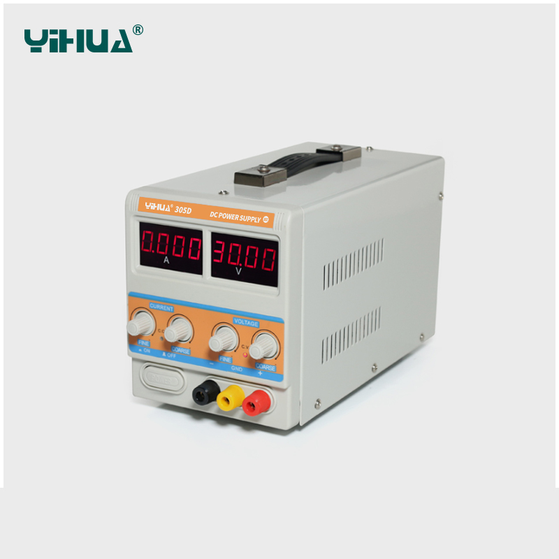 YIHUA PSN-305D 30V/5A Switching Regulated Adjustable Digital DC Power Supply SMPS 110V/220V EU/US PLUG psn 305d 30 v 5a 0 001 a switching power supply regulated adjustable digital dc smps 110 v 220 v