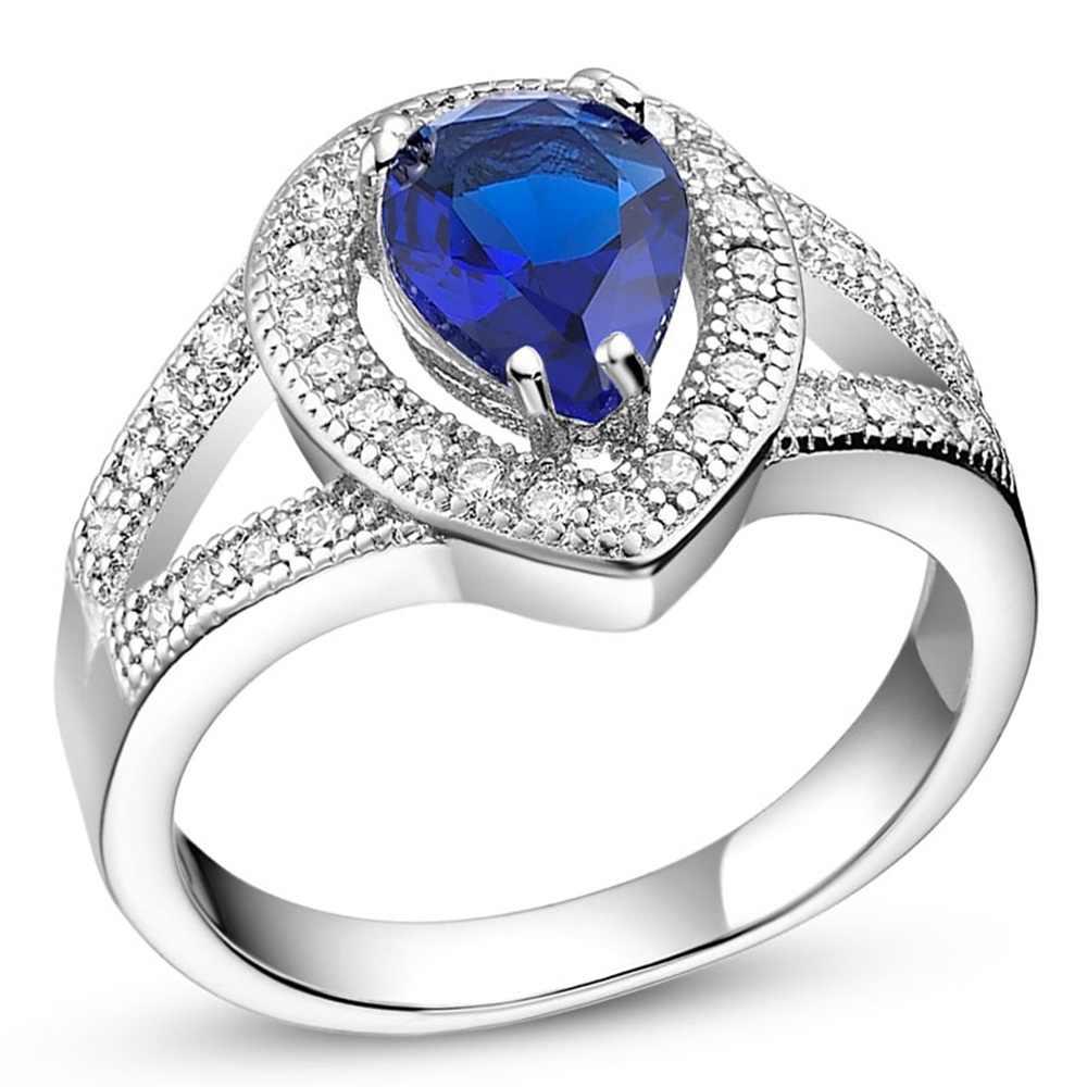 ef862eeb47 New Couple 925 Ring Vashiria Fashion Nice Plated Jewelry 925 Romantic  Imperial Crown CZ Nice Wedding