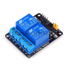 1PCS 2 Channel Relay Module 12V 2-Channel Shield for Arduino Free shipping