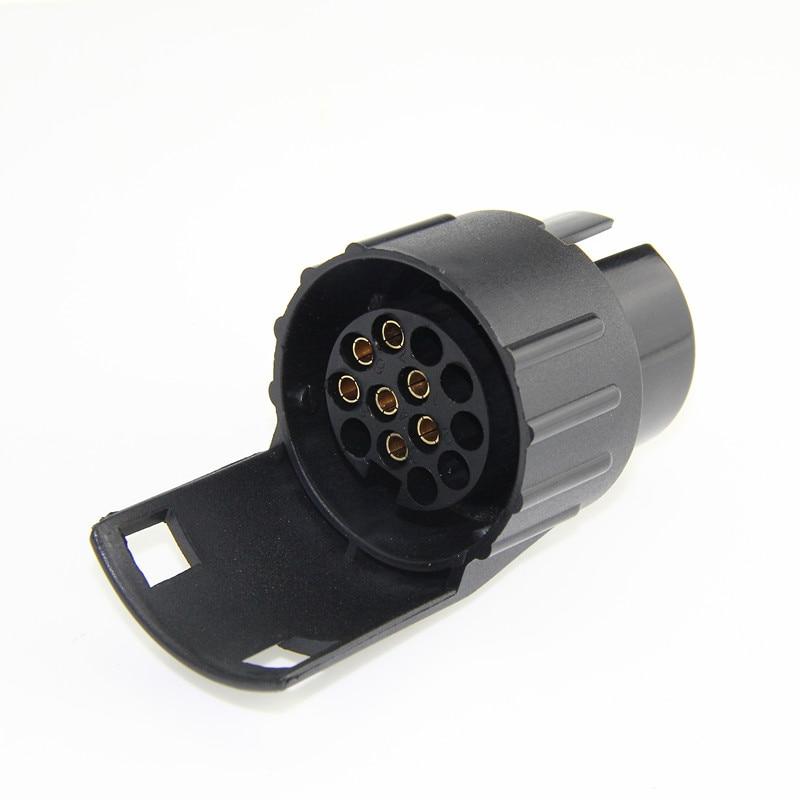 13 Pin To 12N 7 Pin Towbar Electrics Adaptor Converter Socket Caravan Towing