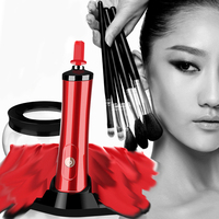 Electronic Makeup Brush Cleaner Convenient Silicone Make Up Brushes Cleanser Cleaning Tool Machine
