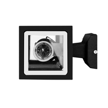 LemonBest Modern Waterproof Up Down Aluminum Cuboid LED Wall Light Fixtures Dual Head Wall Lamp Outdoor E27 Socket AC 85-240V