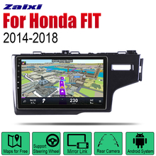 цена на Auto Radio 2 Din Android Car Player For Honda FIT JAZZ 2014~2018 GPS Navigation BT Wifi Map Multimedia system Stereo RHD