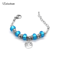 SANYU 2019 New Style Fashionable Fit Pandora Bracelet Temperament Not Silver Glaze Beads Charm Gifts For Women BR-1593