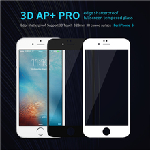 2017 Nillkin AP+Pro 0.23mm Anti-Explosion 9H 3D Full Cover Tempered Glass For iPhone 6 6S 4.7″ Screen film for iPhone6/6s Plus
