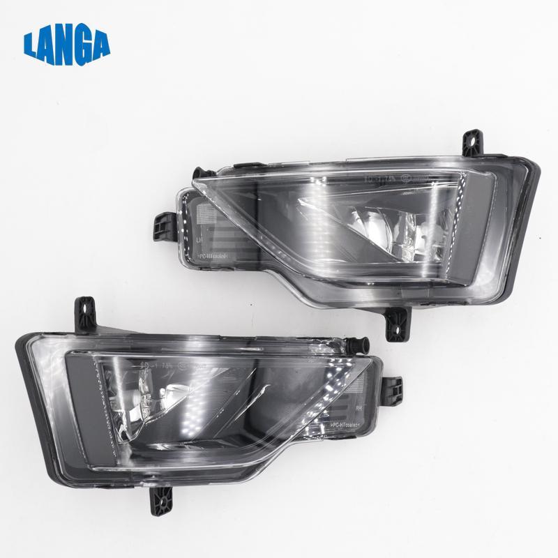 Halogen Fog Lamp Foglamp Fog light Set Nebelscheinwerfer Lampe for Volkswagen VW GOLF Mk7 OE 510941661D