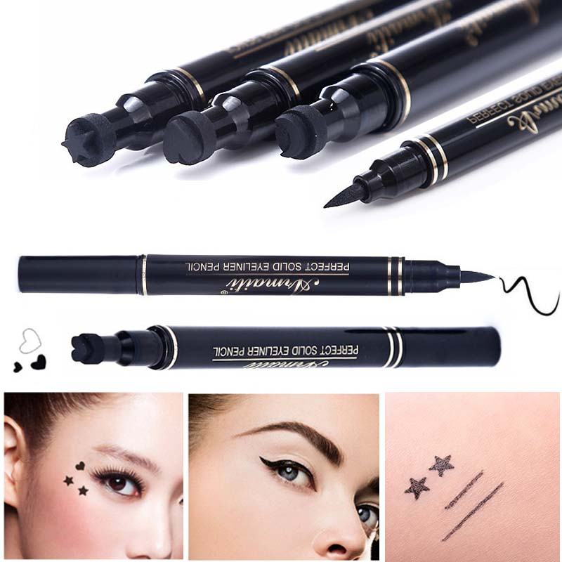 3 styles brand double headed eyeliner liquid black eye