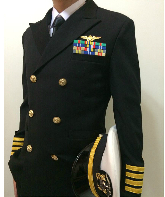 Usa Carrier Navy Captain Uniform Yacht Captain Uniform Naval Dinner
