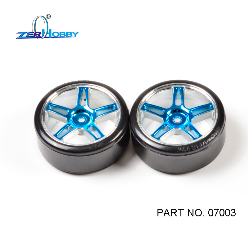 HSP RACING RC CAR SPARE PARTS ACCESSORIES 2PCS PER SET 07003 DRIFT WHEELS OF  1/10 SCALE ELECTRIC POWERED ON ROAD CAR 94123