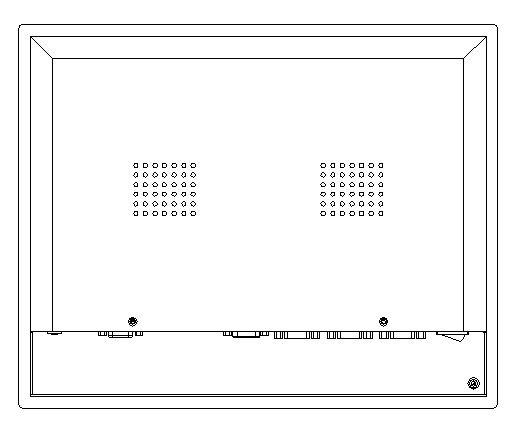 """Saulės šviesoje skaitomas pramoninis skydelis, """"Core i3-3217U"""" - Pramoniniai kompiuteriai ir priedai - Nuotrauka 3"""