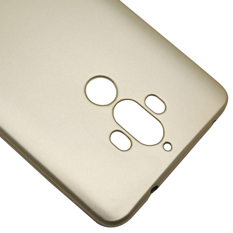 Huawei Mate 9 Kasus Simple Metallic Finish Lembut Silicone Ponsel - Aksesori dan suku cadang ponsel - Foto 2