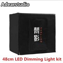 48cm photography equipment tent light photo studio led tent light flash kit Adearstudio Cd50