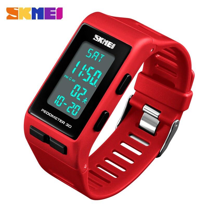 Women Sports Watches Girls 50M Water Resistant LED Watch Ladies Digital Wristwatches Relogio Feminino SKMEI