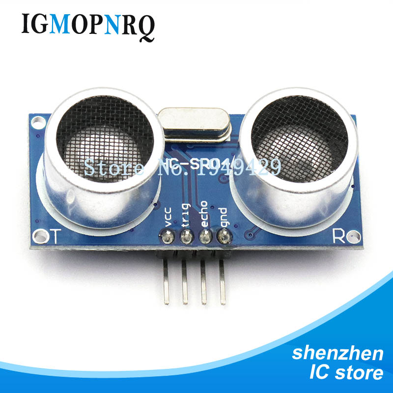 100pcs Ultrasonic Module HC SR04 Distance Measuring Transducer Sensor HC SR04 HCSR04 ultrasonic transducer sensor