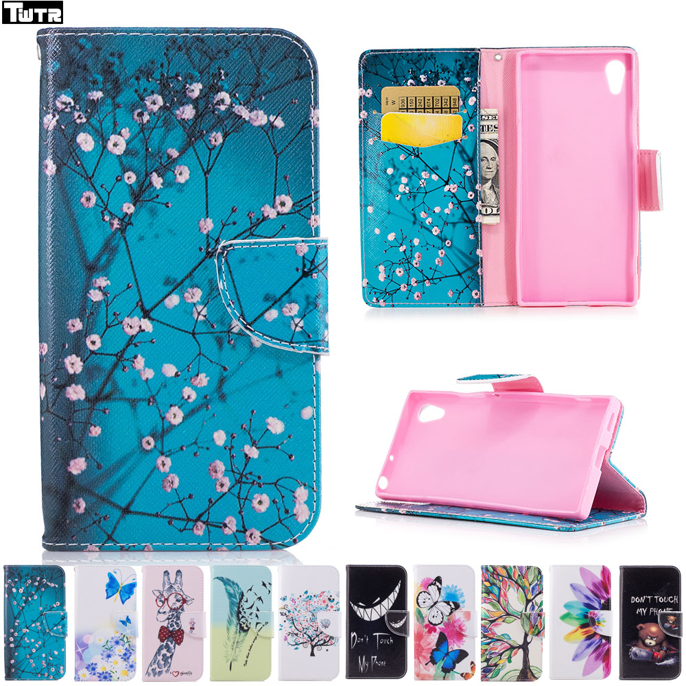 Flip Case for Sony Xperia XA1 XAl Dual G3112 G3116 G3121 Case Phone Leather Cover for Sony Xperia XA 1 G 3112 3116 3121 Cases