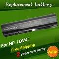 Jigu nueva batería del ordenador portátil para hp pavilion dv4 dv4-2000 series dv4-1000 dv4-1100 dv4-1200 dv4-1300 dv4-1400-1000-dv4t dv4-1500 dv4-1600