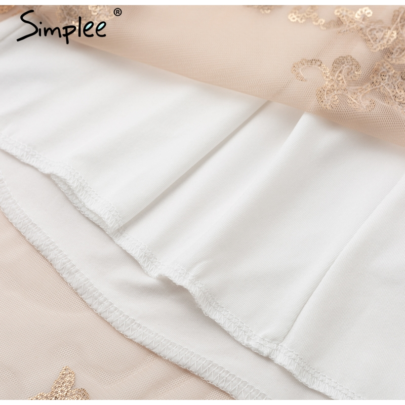 Simplee long party dress 9