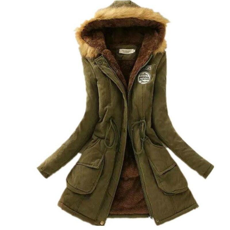 LZJ 2018 New   Parkas   Female Women Winter Coat Thickening Cotton Winter Jacket Womens Outwear   Parkas   for Women Winter S-XXXL