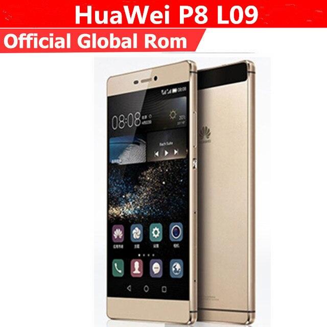 "Международные версии HuaWei P8 L09 4G LTE смартфон Octa Core Android 5,0 5,2 ""FHD 1920X1080 3 ГБ Оперативная память 16 ГБ Встроенная память 13.0MP NFC"