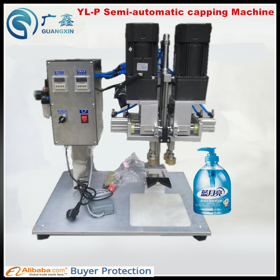 washing Liquid Spray Capping Machine Multi-function Spray Capping Machine Pneumatic Capper To Enjoy High Reputation At Home And Abroad Home Appliances Spray Bottle Capping Machine Home Appliance Parts