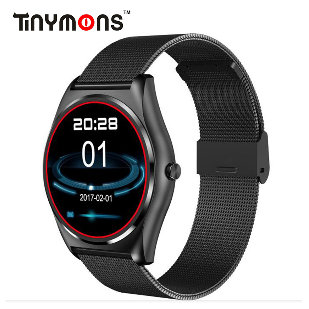 N3 Smart Round Watch With Heart Rate Monitor Bluetooth Smart Watch Wireless charging Support Call Reminder Fitness Smartwatch цена 2017