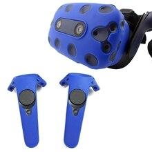 Для Htc Vive Pro Vr гарнитура виртуальной реальности силиконовая резина Vr очки шлем контроллер ручка чехол корпус силиконовый чехол
