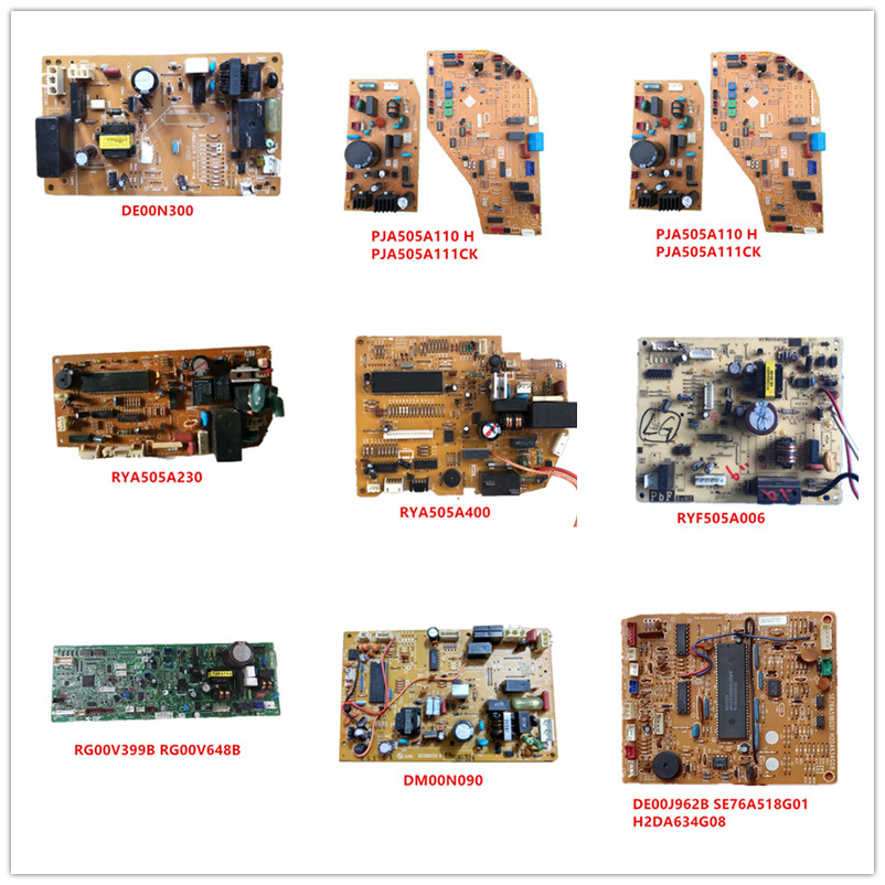 DE00N300/PJA505A110/PJA505A111/RYA505A230/RYA505A400/RYF505A006/RG00V399B/RG00V648B/DM00N090/DE00J962B SE76A518G01 H2DA634G08