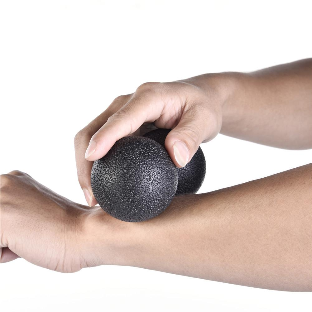 New Massage Ball Double Ball For Body Building Exercise Fascia Training Ball Muscle And Fascia Relaxation For Fitness Pilates
