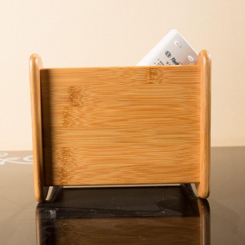Bambusz tároló doboz 3 résszel Táblázat dekor Távirányító - Szervezés és tárolás - Fénykép 3