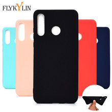 Silicone Cases on sFor Huawei P30 Lite case Cover For Coque