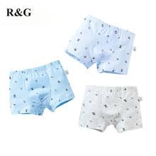 R & g/детские трусики 3 шт/партия хлопковые нижнее белье для