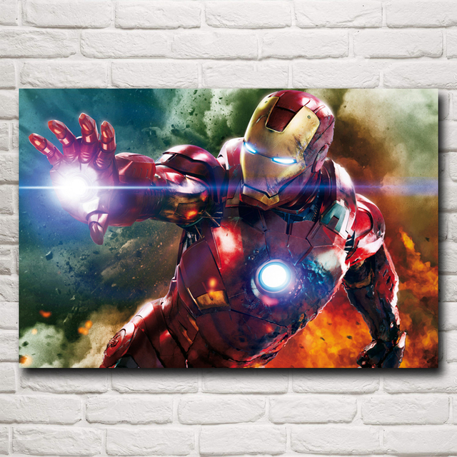 Superhero The Avengers Movie Iron Man Art Silk Poster Decorative Picture 12×19 15×24 19×30 22×35 Inches Free Shipping