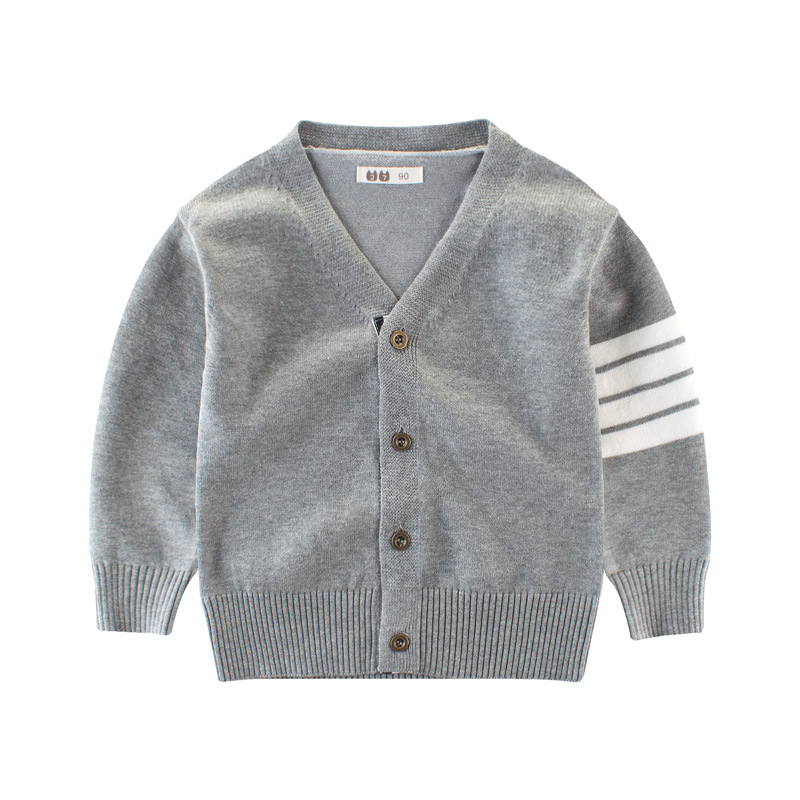 2017 Boys Sweaters Knitting Cardigan Casual Boys Spring & Autumn Children's Sweater Winter Kids Boys Clothing