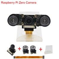 New Raspberry Pi Zero W Camera Focal Adjustable Night Vision Camera 2 pcs IR Sensor LED