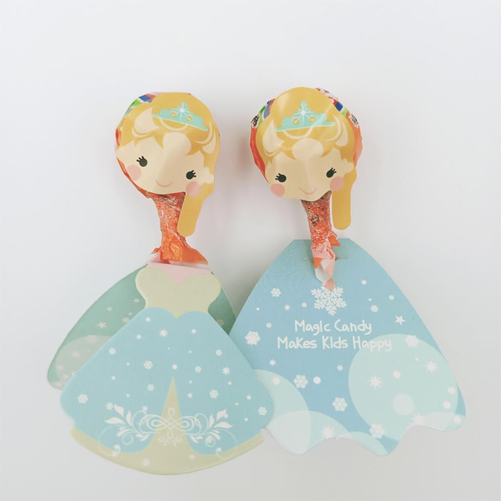 36 Pcs Set Frozen Queen Candy Paper Lollipop Decoration Card