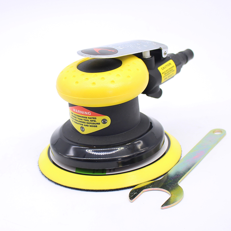 5 Inch air Sander Pneumatic Polishing Machine High Quality swingable pneumatic eccentric grinding machine 125mm pneumatic sander 5 inch disc type pneumatic polishing machine