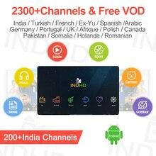 الهند IPTV الاشتراك إيطاليا العربية تركيا IP التلفزيون ألمانيا المملكة المتحدة البرتغال IPTV الهندي باكستان ايطاليا هولندا رومانيا IPTV رمز