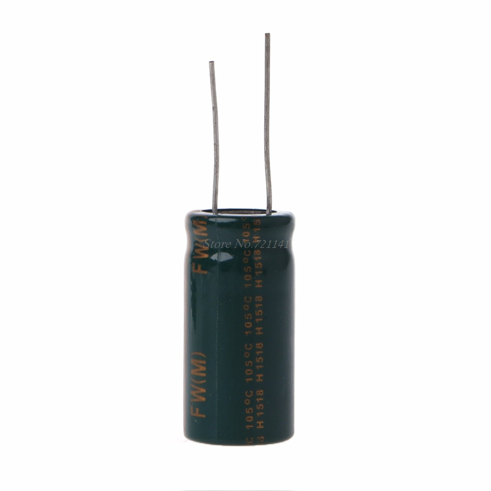 16V 10000uF Capacitance Electrolytic Radial Capacitor High Frequency Low ESR Dropship