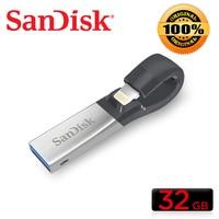 SanDisk USB 3.0 USB Flash PenDrive 256gb 128GB 64GB 32GB 16GB SDIX30N double interface Pen Drive for iPhone iPad iPod